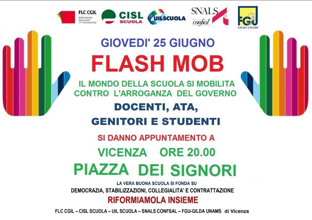 FLASH MOB 25 GIUGNO - CONTRO L'ARROGANZA DEL GOVERNO