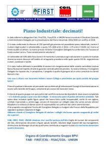 VOLANTINO UNITARIO PIANO INDUSTRIALE SETT 2015