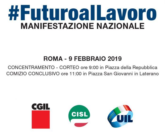 10.000 veneti alla manifestazione unitaria a Roma del 9 febbraio