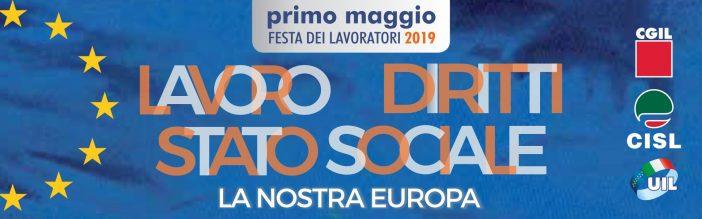 Primo maggio: Cgil, Cisl e Uil manifestazione a Bologna