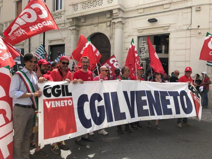 Centinaia di lavoratrici e lavoratori veneti a Reggio Calabria