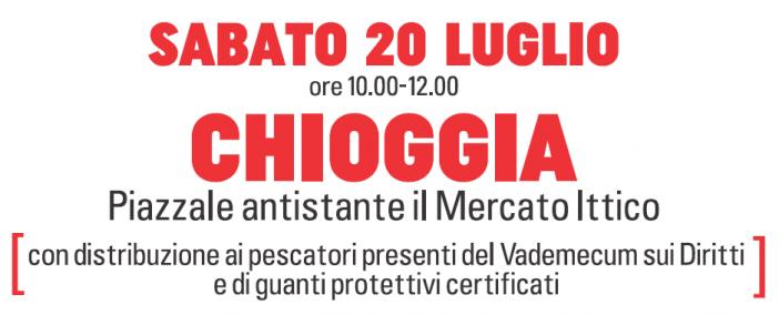 """Pesca, parte da Chioggia la campagna """"Diritti in marineria"""""""