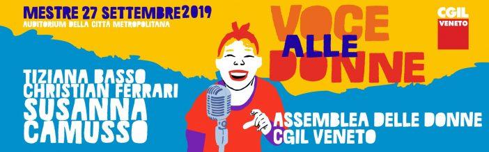 Le donne della Cgil del Veneto in assemblea
