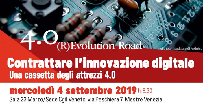 Contrattare l'innovazione digitale: ne parla la Cgil del Veneto
