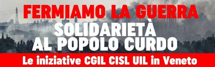 Solidarietà al popolo kurdo, iniziative in Veneto
