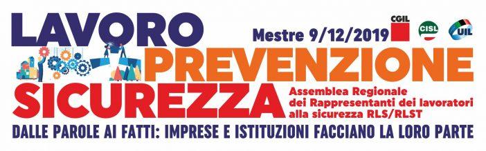 Sicurezza sul lavoro: si riuniscono RLS e RLST del Veneto