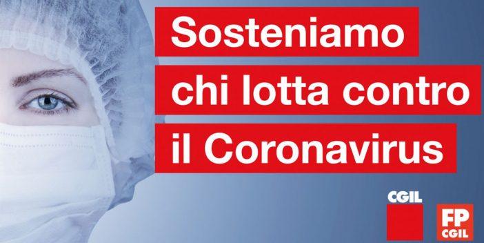 Coronavirus: Cgil e Fp lanciano petizione, sosteniamo operatori Ssn