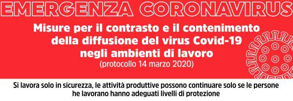 Coronavirus: il protocollo in sintesi